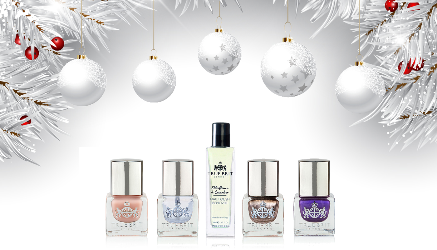 The set includes one award winning Nail Polish Remover, out signature Caviar Base-Coat and Gloss Top Coat, along with 2 colours of your choice.