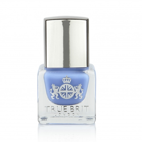A True British Brand, True Brit London - Our luxury nail shade, British Blue.