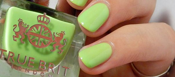 Green Is the New Black! You're About to Fall in Love with Lime Nail Polish