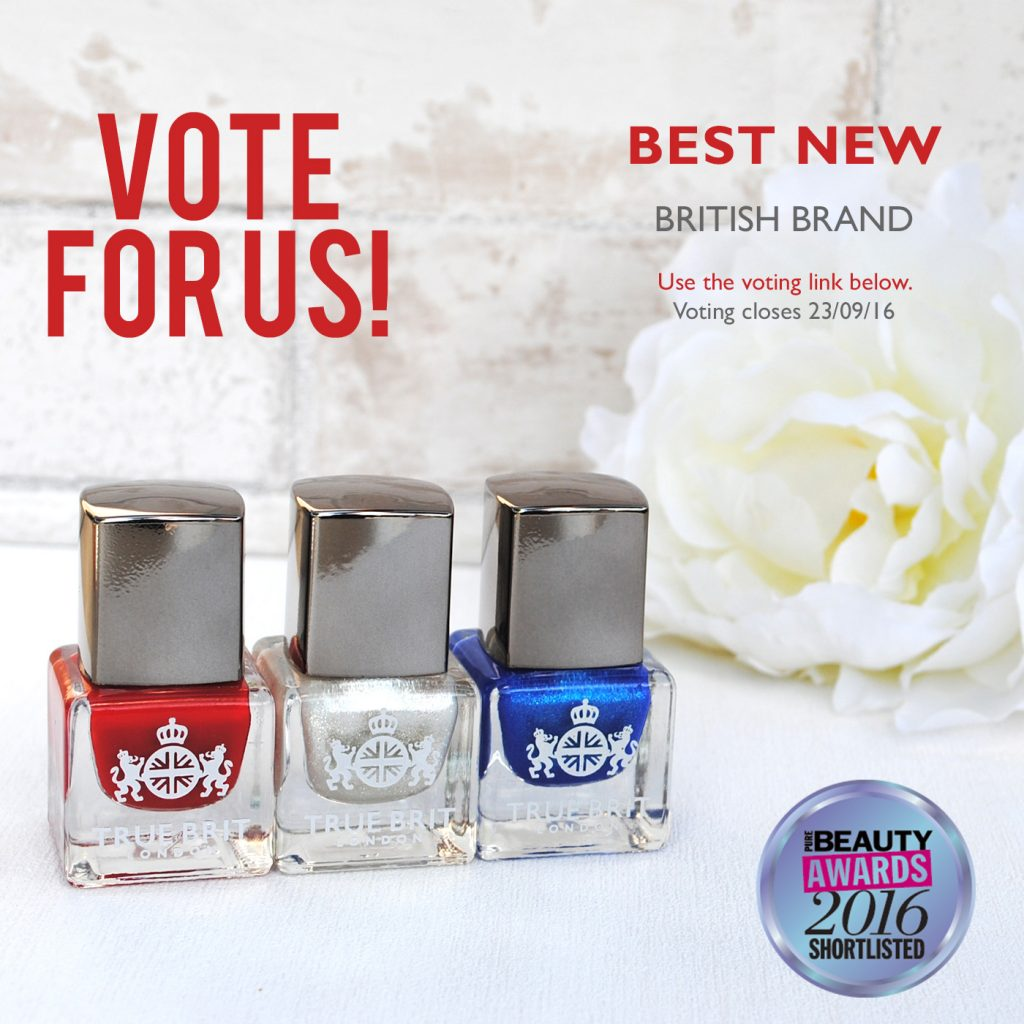 "Do you believe we are the ""BEST NEW BRITISH BRAND""?"