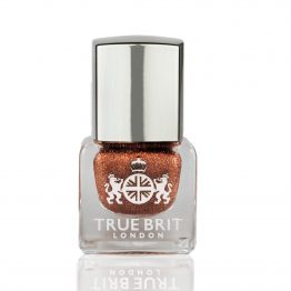 True Brit London Recommends: Always use our Caviar Base Coat before colour application to give your manicure the perfect undercoat. Then apply our Top Coat after two colour coats to ensure your colour keeps its glossy finish. Re-applying every two days will also help to increase the wear time of your manicure.